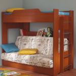 Двухъярусные детские кровати своими руками