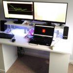 Компьютерный стол с надстройкой своими руками