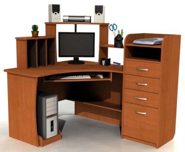 Компьютерный стол сделать