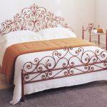 Кованая кровать Элитная