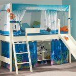 Кровать чердак для ребенка 5-7 лет