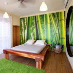 кровать деревянная стиль