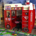 Кровать детская Автобус
