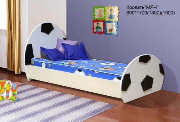 Кровать детская Мяч