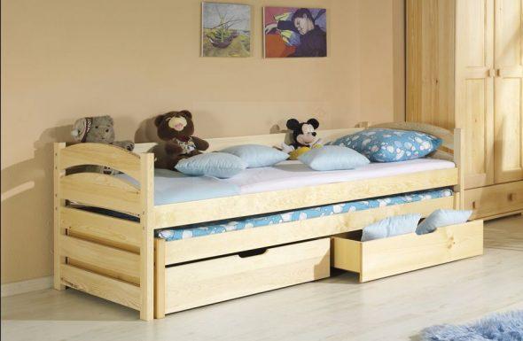Кровать детская двухуровневая Бонни