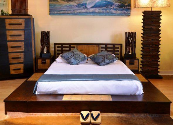 кровать восточный стиль