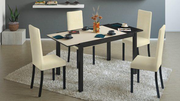 Кухонный стол в интерьере