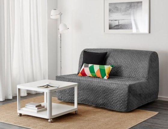 кресло кровать в чехле