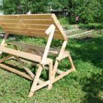 Материал и инструменты для изготовления скамейки