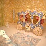 Мебель для детской кровать Карета