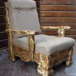 Мебель состаренная под старину своими руками-кресло