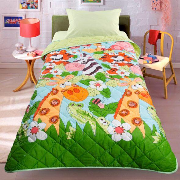 Одеяло-покрывало Джунгли