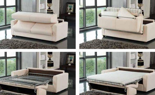 Описание разновидностей диванов по типу трансформации
