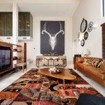 коричневый диван фото