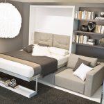кровать шкаф для экономии места