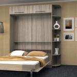 кровать шкаф удобный вариант