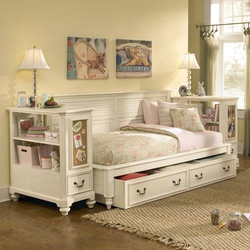 Подростковая белая кровать