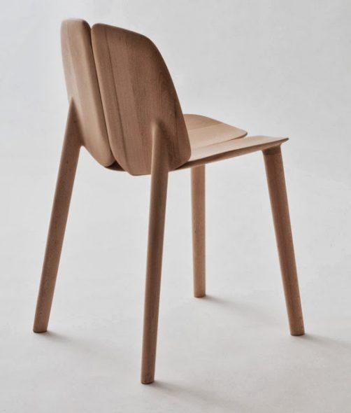 Простота без прикрас и голая функциональность стула