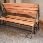 Раскладная скамейка варианты