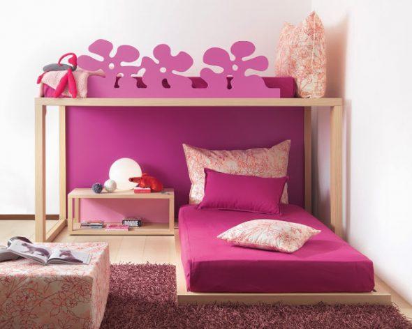 Самые разнообразные варианты двухъярусной кровати