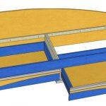 Схема детской кровати с ящиками своими руками
