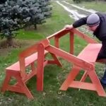 Скамейка-стол