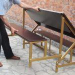 Скамейка-трансформе для отдыха
