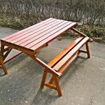Скамейка-трансформер для пикника