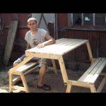 Скамья-стол