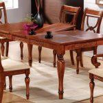 Стол кухонный раскладной деревянный