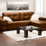 Угловой диван экокожа фото