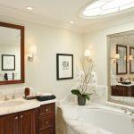 зеркало большое в ванной