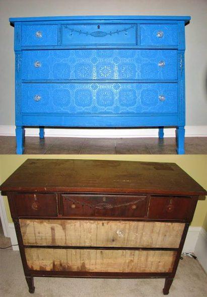 декор мебели до и после