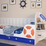 детская кровать Яхта-1