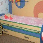 детские кровати для детей разных моделей