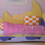 детские кровати для малышей в возрасте 1 месяца