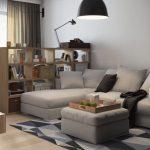 диван французская раскладушка серый