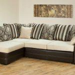 раскладной диван кожаный