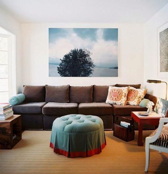 прямой диван кровать