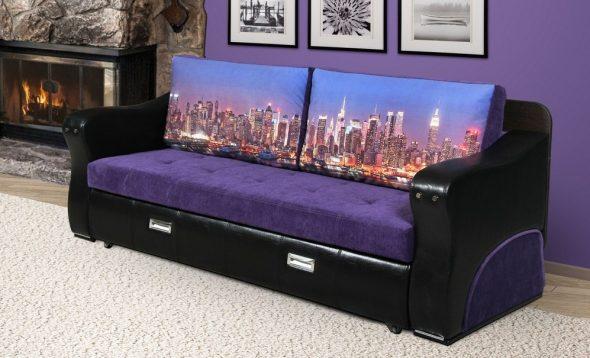 диван в дизайне