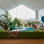 зеленый диван идеи дизайна