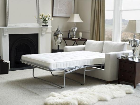 белый диван кровать