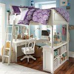 двухъярусная кровать для девочки