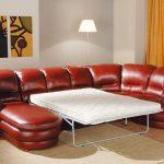 диван французская раскладушка кожаный