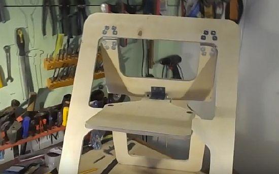 изготовить складной стул
