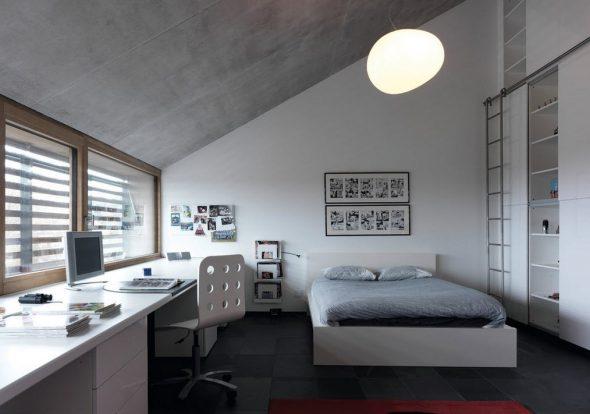комната подростка светлый дизайн