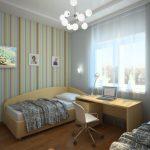 комната подростка небольшая
