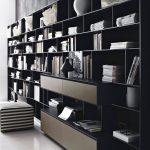 книжный шкаф красивый