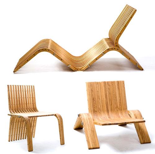 кресла из фанеры