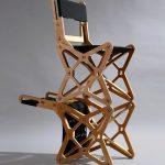 кресло фанерное интерьер